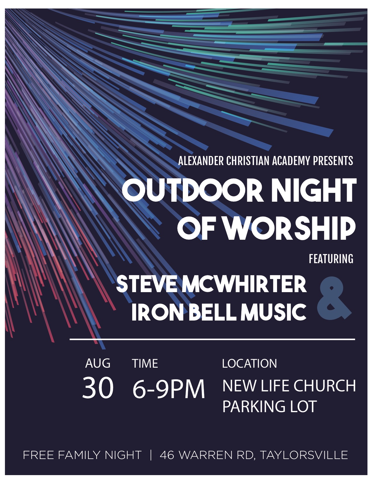 ACA Outdoor Worship Night